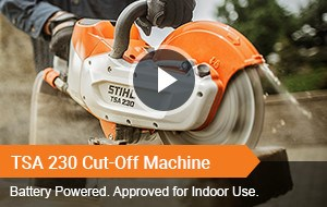 Watch Video - TSA 230 Cut-Off Machine